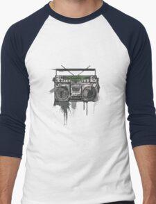 My heart's a stereo Men's Baseball ¾ T-Shirt