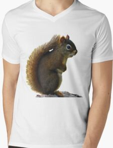 Squrril Tee Mens V-Neck T-Shirt