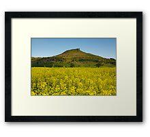 Roseberry Topping Framed Print