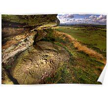 Ketley Crags Rock Shelter Poster