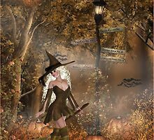 The witch is lost by CarlaSophia