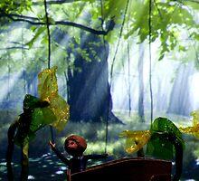 Cellophane Flowers by Paul Benjamin