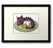 Elder Scrolls Guardian of the Sweetroll Framed Print