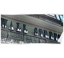Wall Street - Budapest Poster