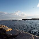 Bristol Harbor, Rhode Island by endomental Artistry