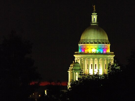 Providence State House dome by Erika Smith