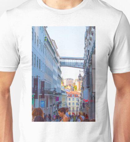 chiado-rua do carmo.lisbon Unisex T-Shirt