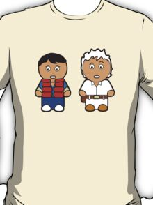Marti and Doc Brown T-Shirt
