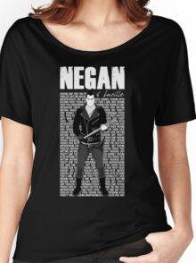 The Walking Dead - Negan & Lucille 3 Women's Relaxed Fit T-Shirt