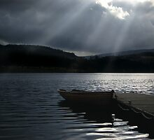 Trossachs Fishing Boat by Doug Cook
