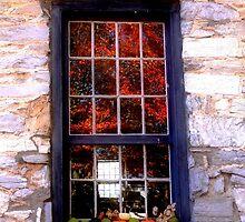 Burwell-Morgan Mill_4 Window Reflections by Hope Ledebur