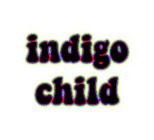 indigo child Photographic Print