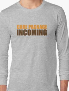CARE PACKAGE incoming Long Sleeve T-Shirt