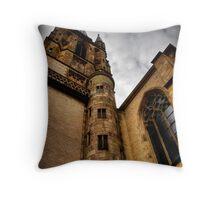 Herz-Jesu Kirche Throw Pillow