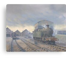 Aberdare Engine Sheds Canvas Print