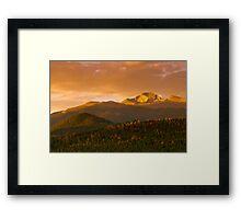 The Rising Of Fall Framed Print