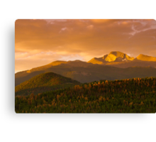 The Rising Of Fall Canvas Print