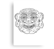 Troll Caricature Canvas Print