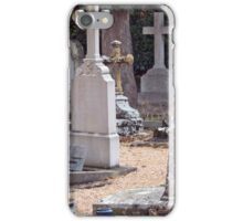 Headstones In Provence iPhone Case/Skin