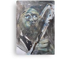 Earl Grey Blues Canvas Print