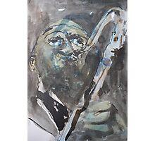 Earl Grey Blues Photographic Print