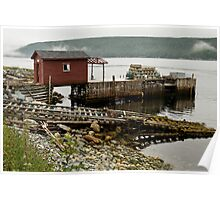 Fishing Dock - Newfoundland, Canada Poster