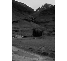 House in the glen Photographic Print
