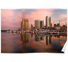San Diego Sunrise Poster
