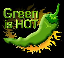 Green is HOT by sifis