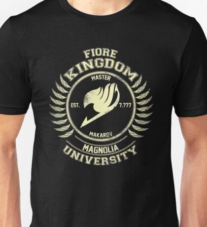 magnolia university cream Unisex T-Shirt