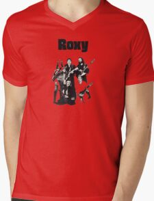 Roxy Music T-Shirt Mens V-Neck T-Shirt