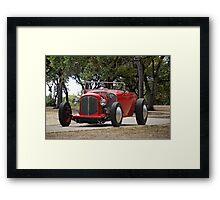 1930 Ford Model A Roadster 'Walk in the  Park' Framed Print