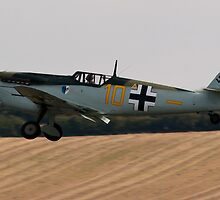 Battle of Britain 70th Memorial Airshow - Buchon 109 by Lachlan Doig
