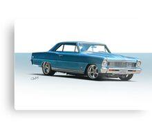 1966 Chevrolet Nova SS 'Super Nova' Metal Print