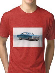 1966 Chevrolet Nova SS 'Super Nova' Tri-blend T-Shirt