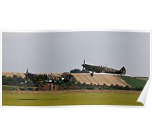 Battle of Britain 70th Memorial Airshow -  Supermarine Spitfire Poster