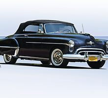 1950 Oldsmobile Rocket 88 Convertible by DaveKoontz