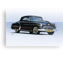 1950 Oldsmobile Rocket 88 Convertible Metal Print