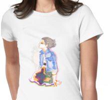 Denim Jacket t shirt Womens Fitted T-Shirt