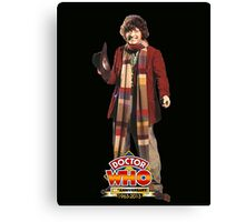tom baker dr who Canvas Print