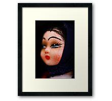 doll face -Hungary Framed Print