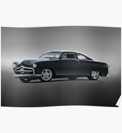 1950 Ford Custom Coupe Poster