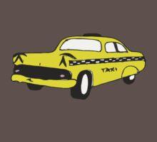 Cute Yellow Cab Baby Tee
