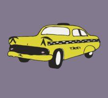 Cute Yellow Cab Kids Tee