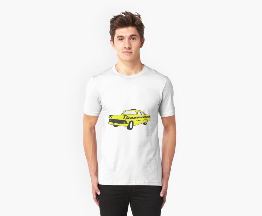 Cute Yellow Cab by Zozzy-zebra
