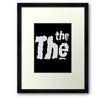 The The T-Shirt Framed Print