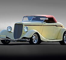 1934 Ford 'Custom Built' Cabriolet by DaveKoontz