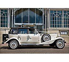 "The ""Beaufort"" Weddingmobile Photographic Print"