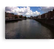 Grattan Bridge - Ireland  Canvas Print