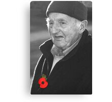 Rememberance Sunday Canvas Print